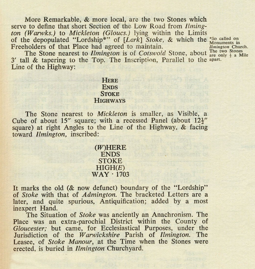 """""""Ways and Waymarks in the Four Shires"""" Self-published by P. Drinkwater 1980."""